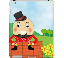 Cute Humpty Dumpty Kids Nursery Rhyme Theme iPad Case/Skin