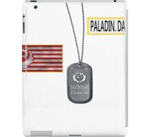 Paladin Danse T Shirt iPad Case/Skin