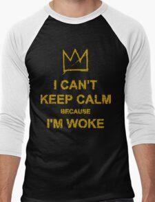 Woke Men's Baseball ¾ T-Shirt