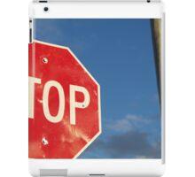 STOP iPad Case/Skin