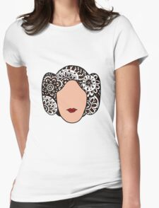 Princess Leia  Womens Fitted T-Shirt