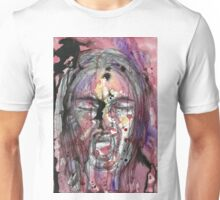 A Watercolor Scream Unisex T-Shirt