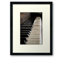 Piano 1 Framed Print