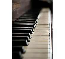 Piano 1 Photographic Print