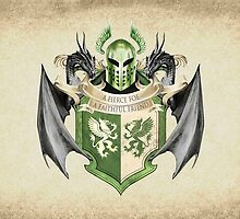 game of thrones banner #9 a fierce foe, a faithful friend by russianbear111