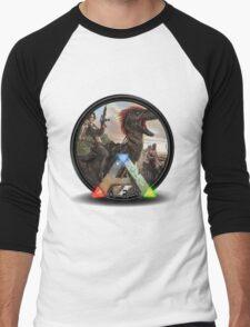 Ark Survival  Men's Baseball ¾ T-Shirt
