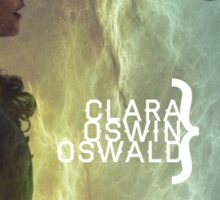 Clara Oswin Oswald Sticker