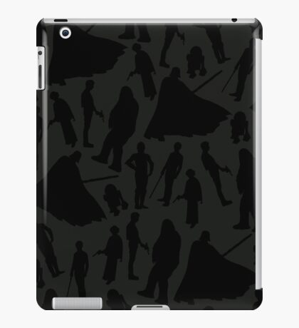 Print-cess Leia & Friends (in Sith Lord color scheme) iPad Case/Skin