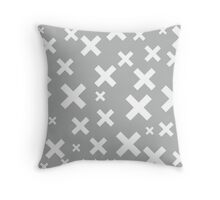 Multiply Grey Throw Pillow