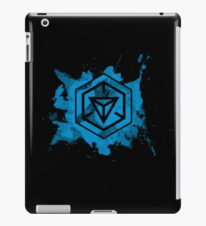 Ingress Resistance Splatter iPad Case/Skin