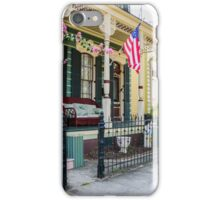 New Orleans Historic Houses iPhone Case/Skin