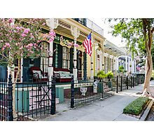 New Orleans Historic Houses Photographic Print