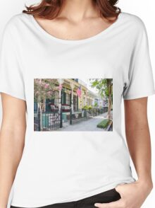 New Orleans Historic Houses Women's Relaxed Fit T-Shirt
