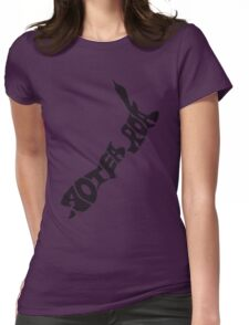 Aotearoa, New Zealand, Land of the long white cloud Womens Fitted T-Shirt