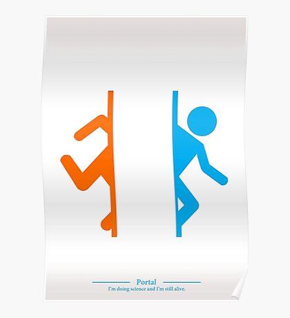 Still Alive - Portal Poster