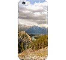 Overlooking Canmore iPhone Case/Skin