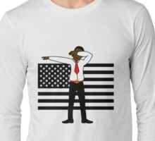 Martin Luther King Jr DAB Clothing (BLACK HISTORY MONTH) Long Sleeve T-Shirt