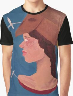 Bust of Pallas Graphic T-Shirt