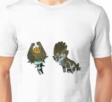 Midna and Link Unisex T-Shirt