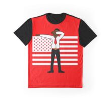 Martin Luther King Jr DAB Clothing (BLACK HISTORY MONTH) RED Graphic T-Shirt