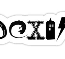 Fandom Coexist Sticker