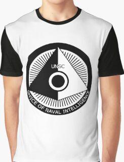 Halo - ONI Insignia (Black) Graphic T-Shirt