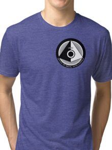 Halo - ONI Insignia (Black) Tri-blend T-Shirt