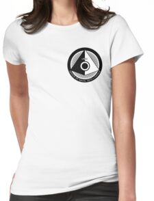 Halo - ONI Insignia (Black) Womens Fitted T-Shirt
