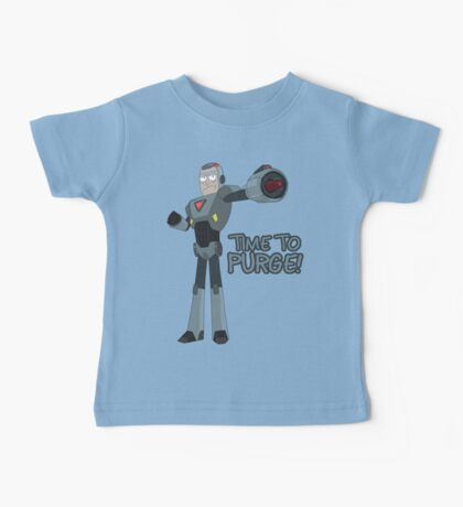 Rick and Morty – Time to Purge! Baby Tee