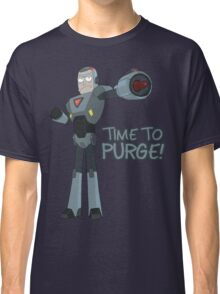 Rick and Morty – Time to Purge! Classic T-Shirt