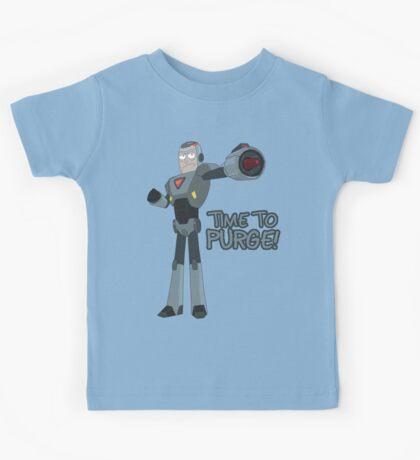 Rick and Morty – Time to Purge! Kids Tee