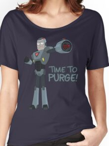Rick and Morty – Time to Purge! Women's Relaxed Fit T-Shirt