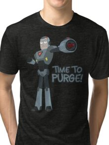 Rick and Morty – Time to Purge! Tri-blend T-Shirt