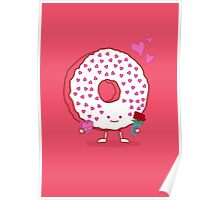 The Donut Valentine Poster