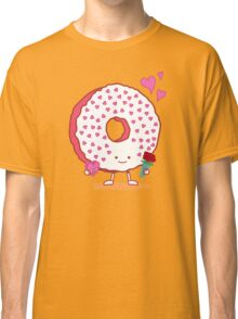 The Donut Valentine Classic T-Shirt