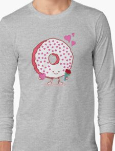 The Donut Valentine Long Sleeve T-Shirt