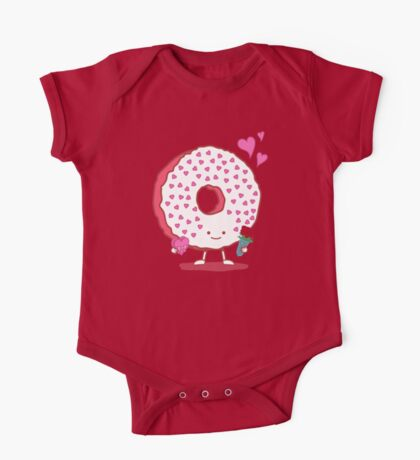 The Donut Valentine One Piece - Short Sleeve