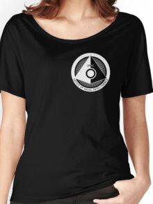 Halo - ONI Insignia (White) Women's Relaxed Fit T-Shirt