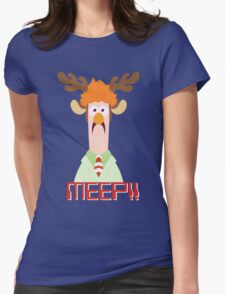 Meep Meep! Womens Fitted T-Shirt