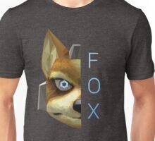 Fox | Super Smash Bros. Melee | Low Polygon Unisex T-Shirt