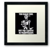 Undertale Papyrus - Cool Dude Meme Framed Print