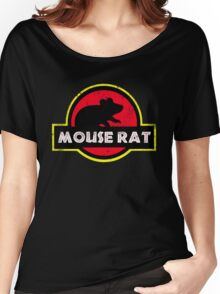Mouse Rat Distressed Women's Relaxed Fit T-Shirt