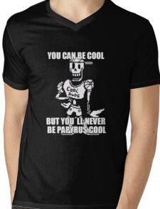 Undertale Papyrus - Cool Dude Meme Mens V-Neck T-Shirt