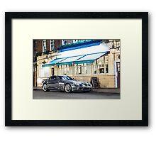 Chrome Mercedes-Benz SLR McLaren Framed Print