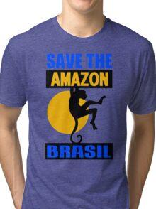 SAVE THE AMAZON Tri-blend T-Shirt