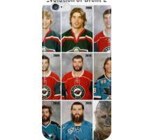 The Evolution of Brent Burns iPhone Case/Skin