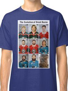The Evolution of Brent Burns Classic T-Shirt