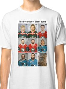 The Evolution of Brent Burns Classic T-Shirt