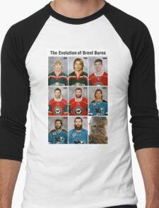 The Evolution of Brent Burns Men's Baseball ¾ T-Shirt