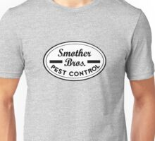 Smother Bros Pest Control Unisex T-Shirt